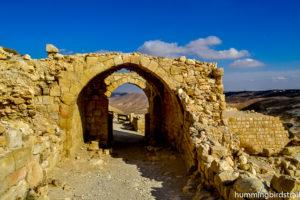 The main archway: entrance of Shoubak castle