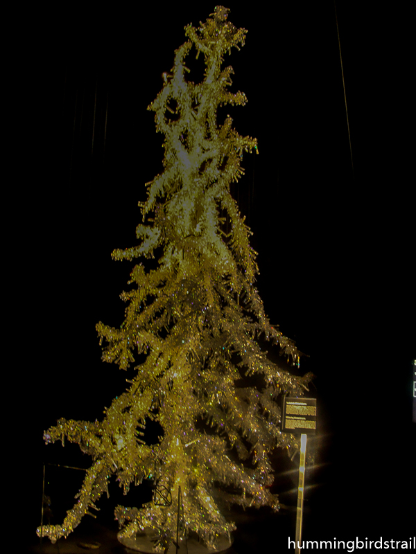 Silent Light, sparkling crystal tree by Tord Boontje and Alexander McQueen