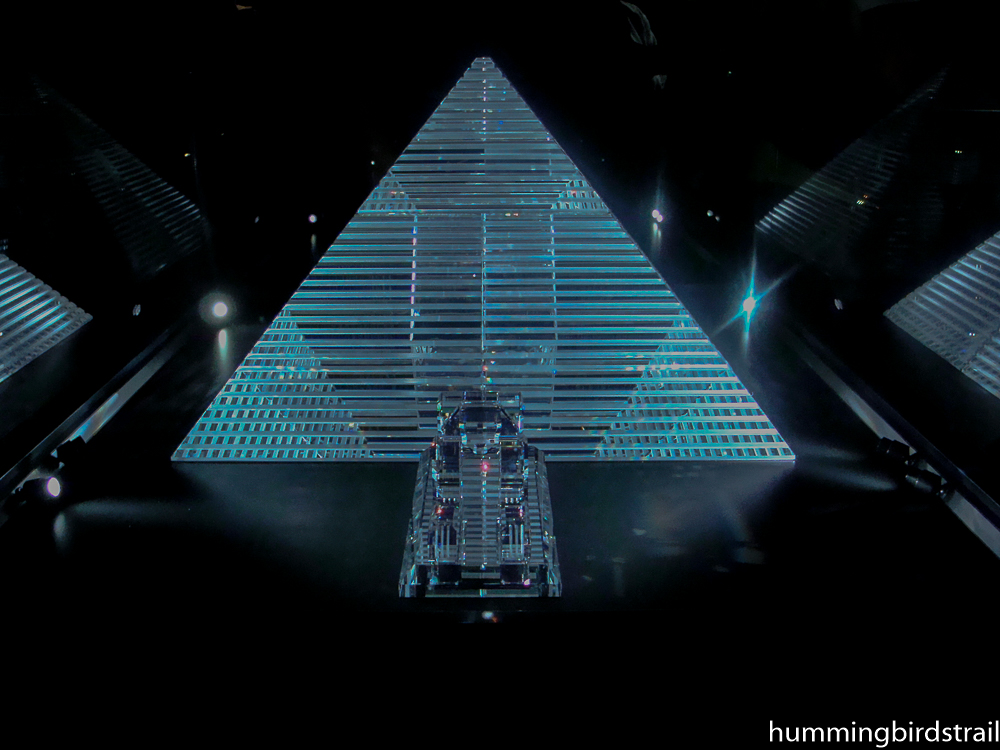 The Cheops Pyramid in Famos, weighs 105 kg with 386 individual parts