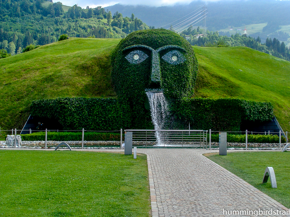 Famous face of the Giant of Swarovski Crystal
