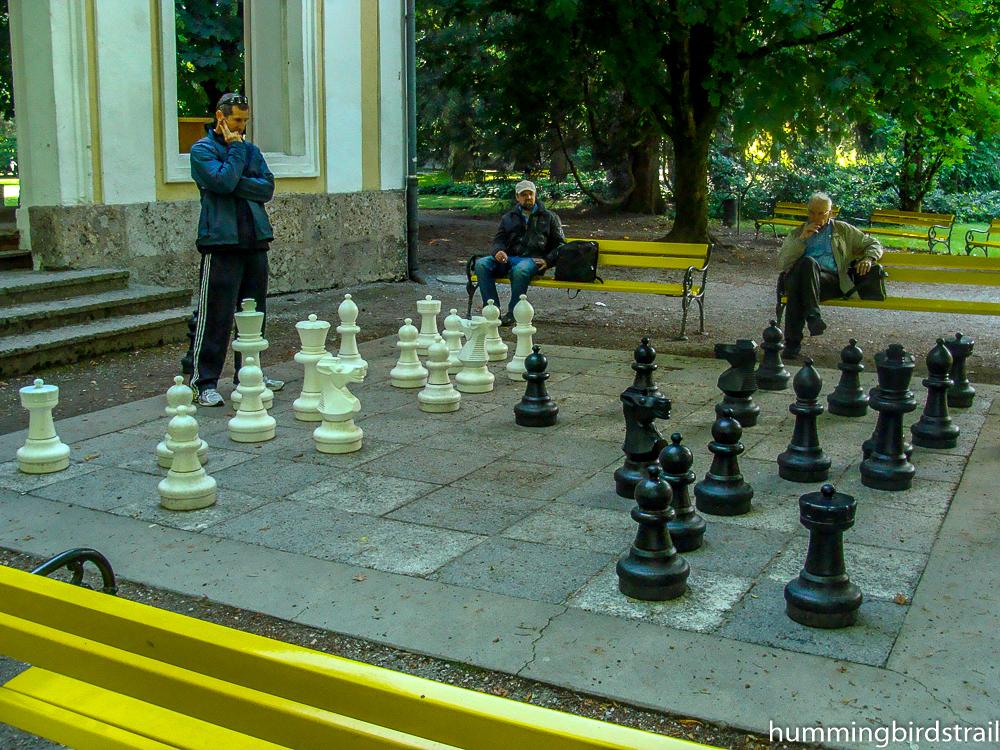 Giant chess, Hofgarten