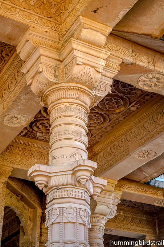 Artistic excellence on the temple