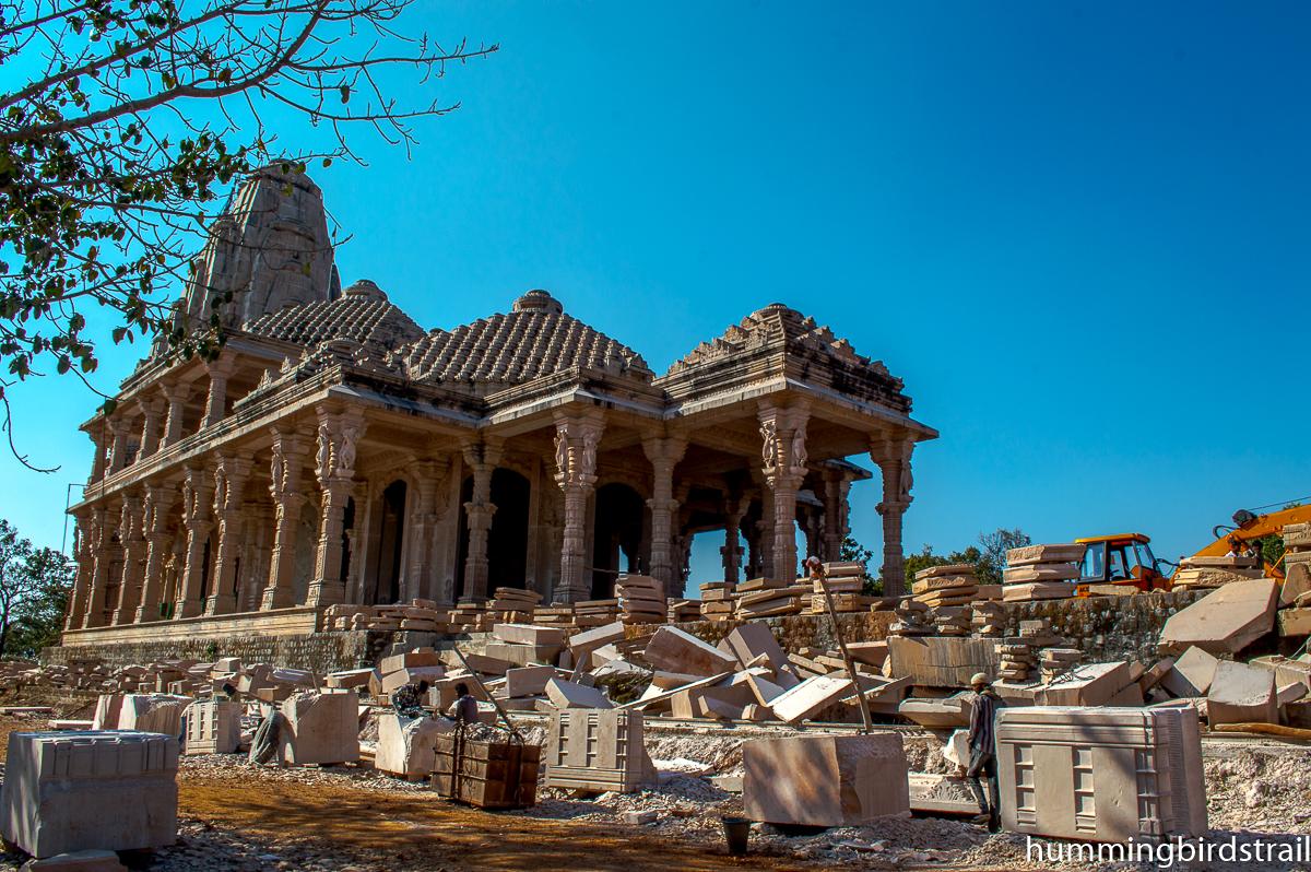 Shri Sarvodaya Digambar Jain Temple construction site