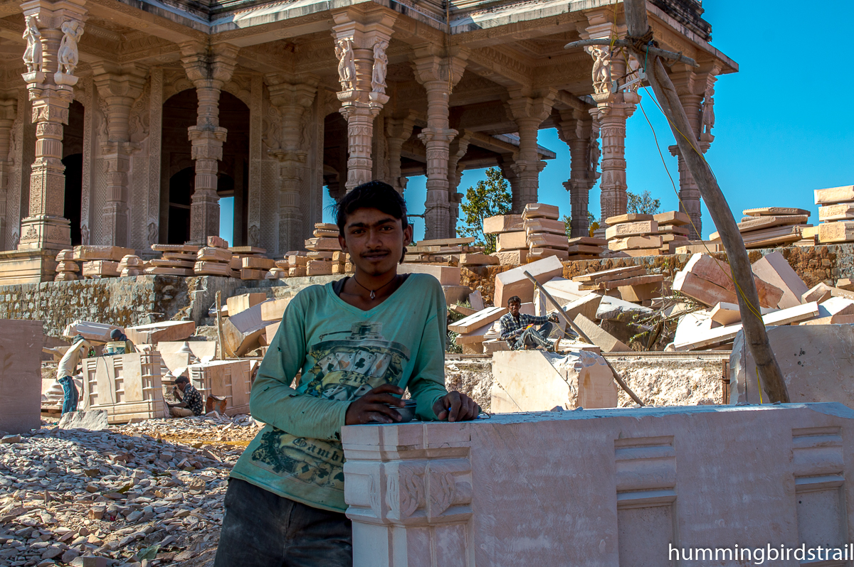 Worker of this marvellous temple