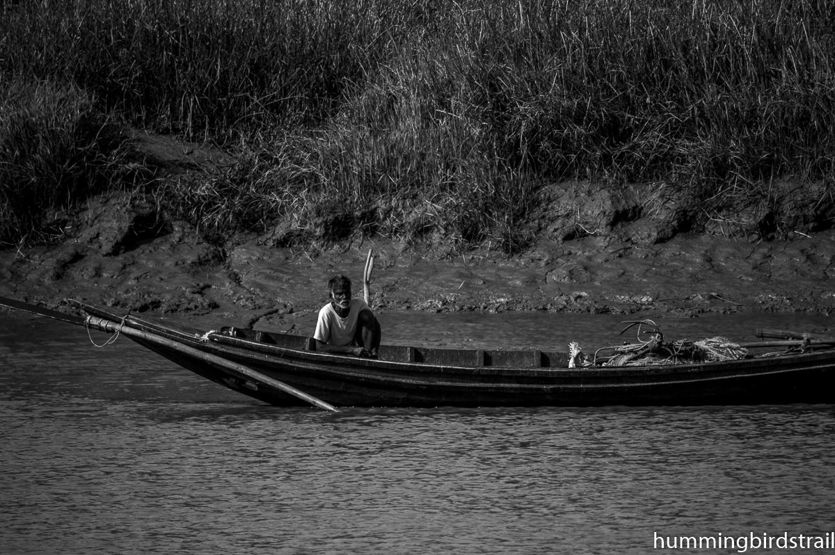Fisher man on board