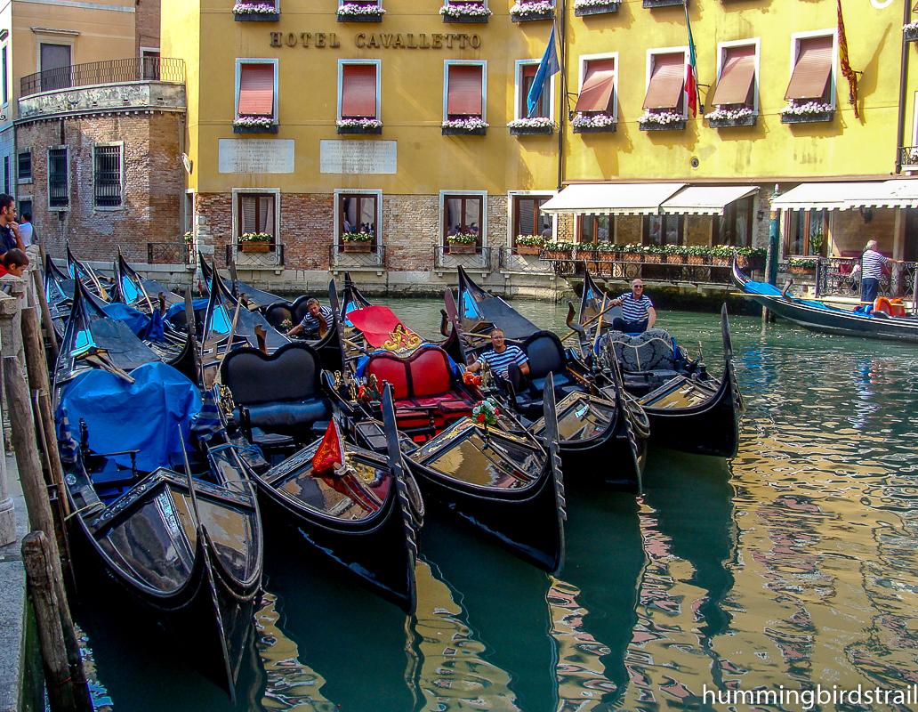 Famous Venetian Gondolas